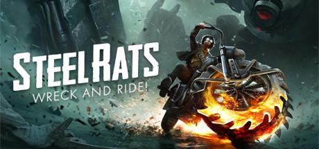 动作游戏《钢铁之鼠》专题站上线 骑机车打小怪兽
