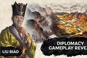 游侠中文字幕:《全面战争:三国》外交系统玩法演示