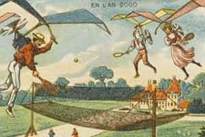 坦克、电动列车都已实现!1900年的人如何梦想将来