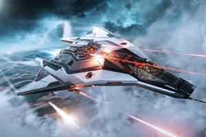 《星际公民》全新炫酷飞船 轻型战斗机搭载重型火力