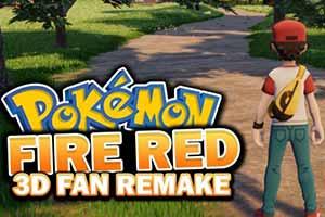 粉丝虚幻4引擎重制《口袋妖怪:火红》 最新视频公布