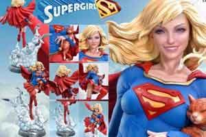 """""""超女""""精美雕像公布 一头金色长发身材丰满性感!"""