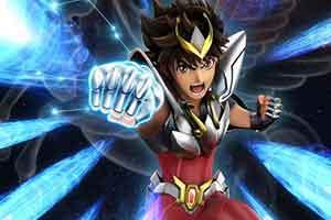 《圣斗士星矢》重制动画新视觉图 青铜圣斗士星矢亮相