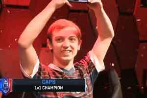 《LOL》全明星赛落幕 欧洲法王Caps夺得Solo冠军!