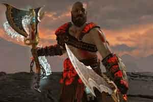 """《战神4》神奇的良性Bug:""""刀斧并用""""冰火技能震撼"""