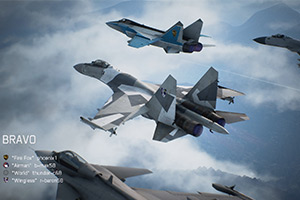 《皇牌空战7》多人模式详情公开 最大支持8人对战!