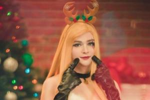 女装只有零次和无数次 Sneaky新作福利圣诞Cos!