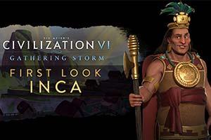 《文明6:风云变幻》新领袖公布!瑞典女王登场!