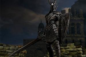 《黑暗之魂》黑骑士1:6手办开卖 配件武器一应俱全