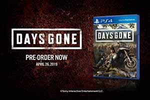 PS4独占《往日不再》新预告片公布 介绍游戏预购特典