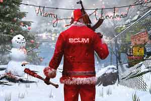 《人渣》推出圣誕節更新 可以用島上積雪來堆雪人了!