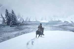 玩家突破《荒野大镖客2》地图边界 发现美丽新世界!