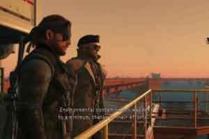 "PS4版《合金装备5:幻痛》迎来""无核世界""隐藏结局"