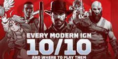 所有IGN满分游戏一览 10分游戏越来越多大家喜欢吗?