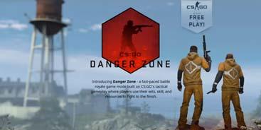 《CS:GO》去年大逃杀模式免费引入 玩家数量显著增加