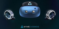 CES 2019: HTC推出Vive Cosmos VR头盔 上手更简单