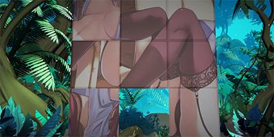HENTAI GAMES:steam外壁之上野蛮滋生的爬山虎
