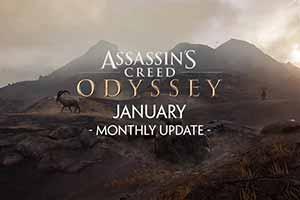 """《刺客:奥德赛》1月更新""""袖剑的传承第二章""""预告"""
