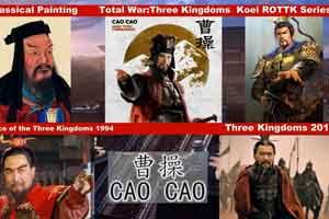 《全战:三国》与《三国》电视剧人物对比 还原历史