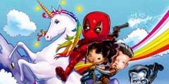 IMAX官博公布《死侍2》和《奔跑人生》专属海报