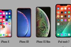 苹果iPod Touch 7概念渲染图:2GB内存+7英寸刘海屏