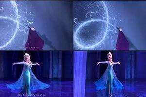 《王国之心3》X《冰雪奇缘》对比视频 像素级还原!