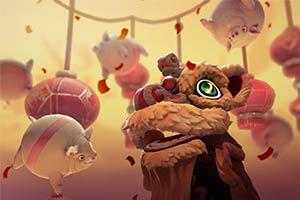 《Dota2》春节活动开启:有时机赢取珍稀年兽信使