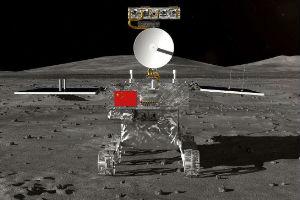 NASA拍摄到了只要两个像素大小中国嫦娥四号!