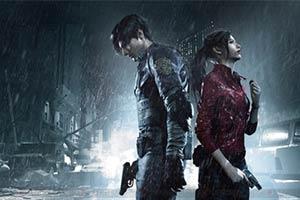 PS1画质下玩《生化危机2:重制版》 带给你别样恐怖