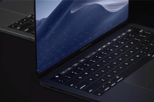 """""""热心网友""""发布想象中的Macbook 全面屏如iPad Pro"""