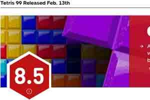 疯狂激烈!《俄罗斯方块99》一场完美的混战IGN 8.5分
