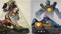 《Apex英雄?#20998;?#39064;耐克球鞋推出 十分具有收藏价值