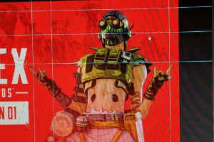 网传《Apex英雄》新英雄图片:原来是个机械改造人?