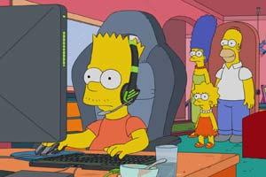 《辛普森一家》新一集主题有关电竞 动画角色也玩LOL