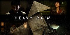 交互式电影冒险游戏《暴雨》Heavy Rain专题站上线