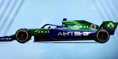 酷炫赛车竞速模拟游戏《F1 2019》专题站上线