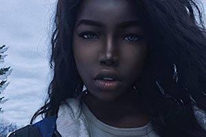 """16岁黑人少女爆红网络 被网友称为""""非洲刘亦菲""""!"""