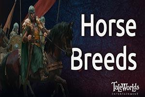 《骑马与砍杀2:领主》官方公布马匹设定 意欲何为?