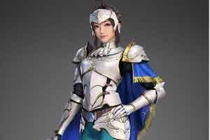 《真三8》第八弹服装DLC演示 辛宪英骑士风超清纯!