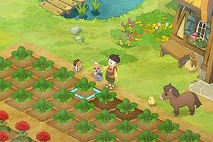《哆啦A梦牧场物语》海量截图 神奇发明来帮你种田!
