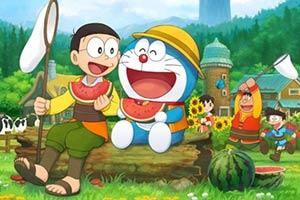 《哆啦A梦:牧场物语》封面和截图 优哉游哉种种田!