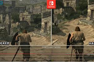 Switch《龙之信条》掌机/底座模式画面对比 稳定优秀
