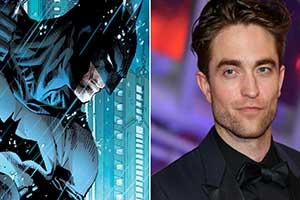 """都是蝙蝠?《暮光》男主罗伯特将接班""""蝙蝠侠""""?"""