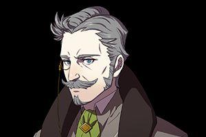 """《火焰纹章:风花雪月》新角色纹章学者 """"韩内曼"""""""