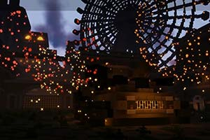 玩家在《我的世界》中重建《尼尔》的梦幻游乐园!