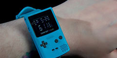 Game Boy Color掌机推出经典手表周边 售价约200元