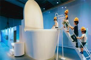 日本超奇葩的洗手间设计集锦!最惊人的不止是透明!