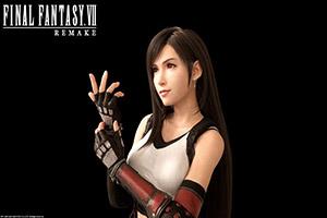E3:姐姐揍我!花式表白《FF7重制版》女神蒂法回归
