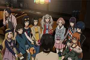 《女神异闻录5》情人节OVA完整版 男主脚踏九只船