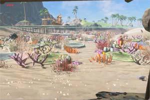 风景超美《塞尔达传说:荒野之息》BUG展示水下风光